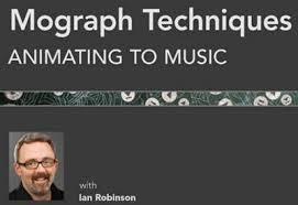lynda.com mograph techniques animating to music   http://Glukom.com