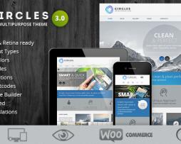 Circles - Retina Responsive Multi-Purpose Theme http://Glukom.com