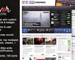 Flavor - Responsive/HD Magazine/Review AJAX Theme http://Glukom.com