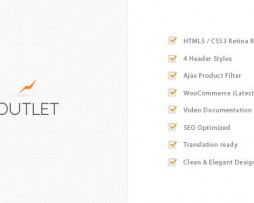 Outlet - Multi-Purpose WooCommerce Theme http://Glukom.com
