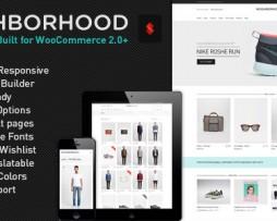 Neighborhood - Responsive Multi-Purpose Shop Theme http;//www.glukom.com