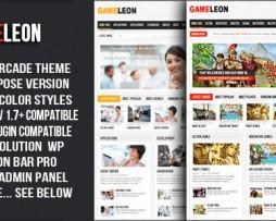 Gameleon - WordPress Arcade Theme http://Glukom.com