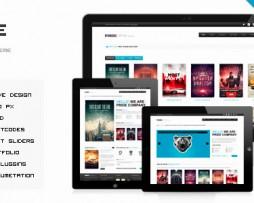 PRIDE - Responsive WordPress Theme http://Glukom.com