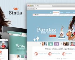 Sintia Responsive for Business Portfolio http://Glukom.com