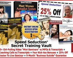 Ross Jeffries – Speed Seduction Secret Training Vault http://Glukom.com