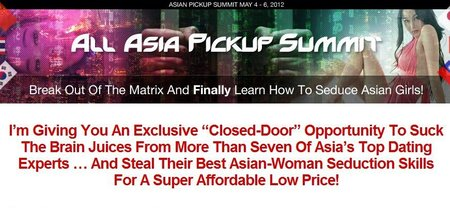 All-Asia Pickup Summit 2012 http://Glukom.com