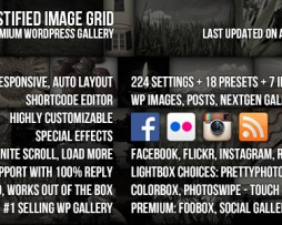 Justified Image Grid - Premium WordPress Gallery http://Glukom.com