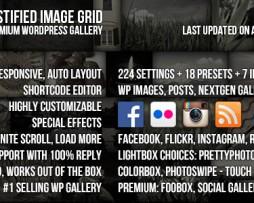 Justified Image Grid - Premium WordPress Gallery http://Glukom.com