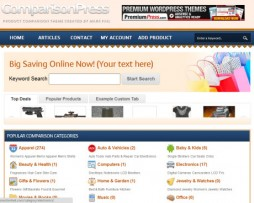 PremiumPress-ComparisonPress-WordPress-Theme http://www.5Dollasreach.com