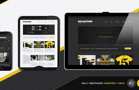 Reaction-WP-Responsive-Rugged-Bold