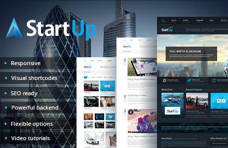 StartUp - Multi-Purpose Responsive Theme 1.1.4 http://Glukom.com