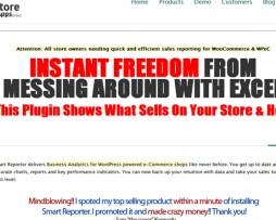 Storeapps - Woocommerce Smart Reporter Pro http://Glukom.com