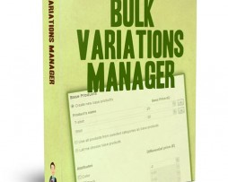 Woocommerce Bulk Variations Manager Download