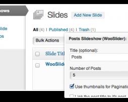 WooSlider  The Ultimate Slideshow Plugin for WordPress http://Glukom.com