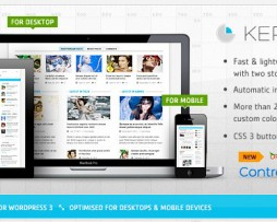 Kernel - Premium WordPress Blog & Magazine Theme http://Glukom.com