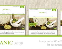 Organic Shop - Responsive WooCommerce Theme http://Glukom.com