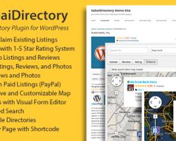 SabaiDirectory for WordPress http://Glukom.com