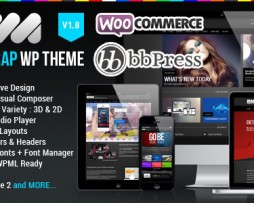 EWA - Bootstrap Multi-Purpose Wordpress Theme http://Glukom.com