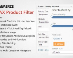WooCommerce AJAX Product Filter - WordPress Plugin http://Glukom.com