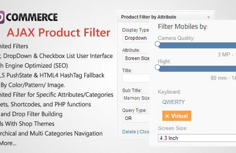 WooCommerce AJAX Product Filter - WordPress Plugin http://Glukom.com