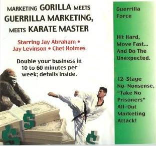 Jay Conrad Levinson and Chet Holmes – Guerrilla Marketing Meets Karate Master 22 CDs