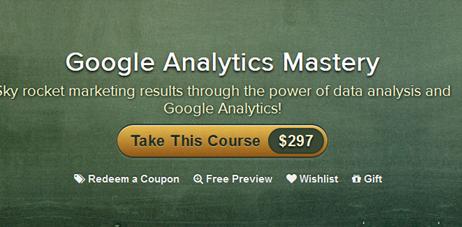 Gill Media – Google Analytics Mastery eCourse 2012