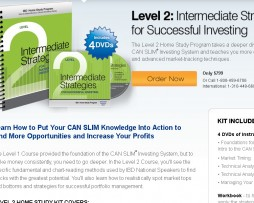 Investors Business Daily - Home Study Course - Level 1, 2, and 3