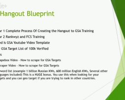 Holly Cooper Easy Hangout Blueprint OTO