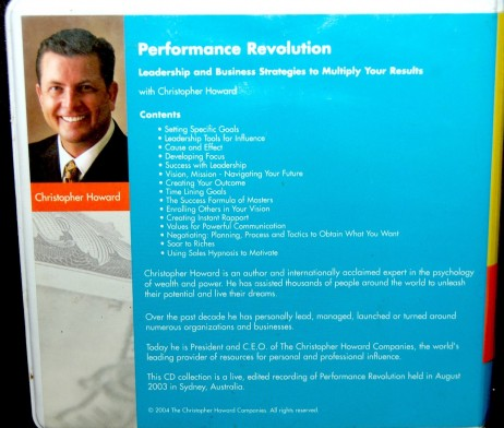 Chris Howard - Performance Revolution