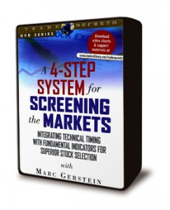 A 4-Step System for Screening the Markets