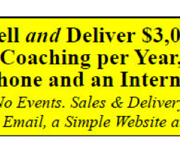 Tom Orent - How to Sell $3M yr High End Coaching