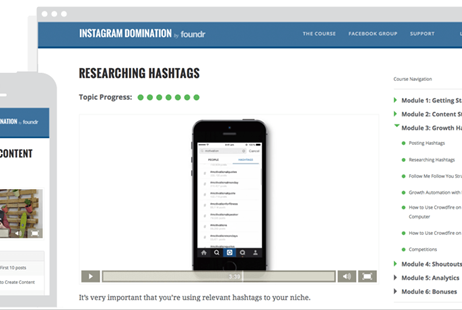 Instagram Domination By Foundr