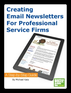 Jay White – AWAI – Creating Email Newsletters For Professional Service Firms