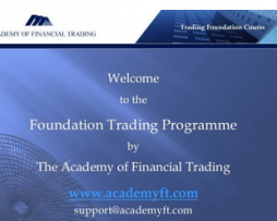 Academy FT – Foundation Trading Programme