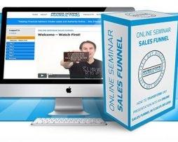 Jovan Will – Online Seminar Sales Funnel