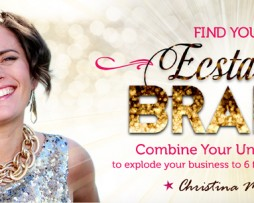 Christina Morassi - Find Your Ecstatic Brand