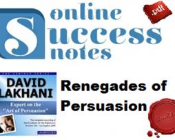 Dave Lakhani – Renegades of Persuasion