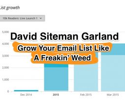David Siteman Garland – Grow Your Email List Like A Freakin' Weed