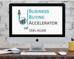 Carl Allen –  Business Buying Accelerator